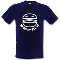Unhappy Meals male t-shirt.