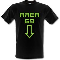 Area 69 male t-shirt.