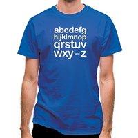 Alphabet classic fit.