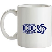 International Chinese Burn Champion mug.