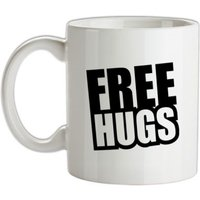 Free Hugs mug.