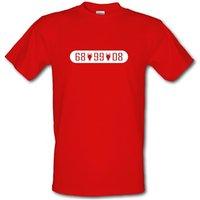 Man United European Champions male t-shirt.