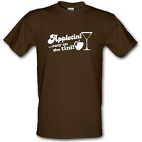 Appletini Easy On The Tini! Male T-shirt.