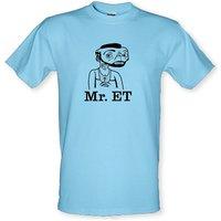 Mr ET male t-shirt.