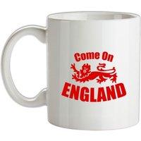 Come On England mug.