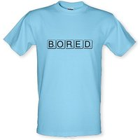 BORED male t-shirt.