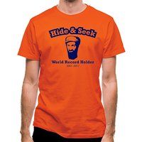 Bin Laden - Hide And Seek World Record Holder classic fit.