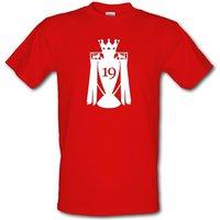 Man United League Champions male t-shirt.
