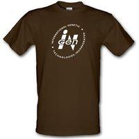 International Genetic Technologies Incorporated male t-shirt.
