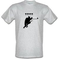 Comma Chameleon male t-shirt.
