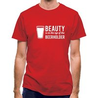 Beauty is in the eye of the Beerholder classic fit.