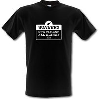 Winners New Zealand All Blacks male t-shirt.
