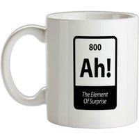 The Element Of Surprise mug.