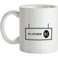Platform Nine And Three Quarters mug.