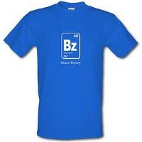 Bazinga Chaos Theory male t-shirt.