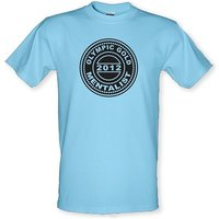 Olympic Gold Mentalist male t-shirt.