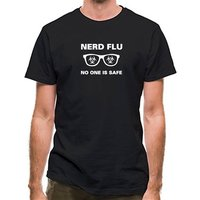 Nerd Flu No One Is Safe classic fit.