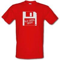 Old School Geek male t-shirt.