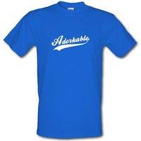 Adorkable Male T-shirt.