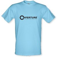 Aperture Laboratories Male T-shirt.