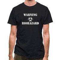 Warning Biohazard classic fit.