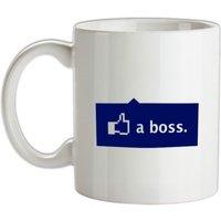 Like A Boss mug.