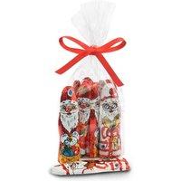 Foiled milk chocolate santas - Bag of 40