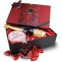 Valentines Champagne & chocolate hamper