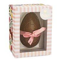 Pink Marc de Champagne truffles Easter egg