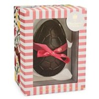 Dark chocolate Easter egg with Rose & Violet Creams