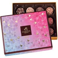 Godiva, Limited Edition, 12 Chocolate Truffle Gift Box - Best before: 8th March 2018