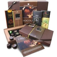 The dark chocolate tasting hamper