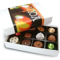 12 Personalised Wrap Chocolate box - Luxury