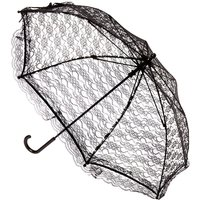 Claire's Black Lace Halloween Parasol - Halloween Gifts