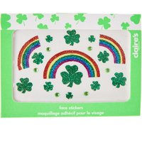 Claire's St. Patrick's Day Glitter Face Stickers - St Patricks Day Gifts