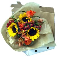 Amber Medley Letterbox Flowers