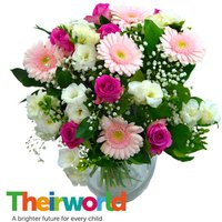Baby Girl Flowers with Theirworld