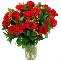 Red Hot Passion Bouquet