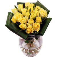Friendship Yellow Roses