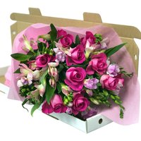 Pink Symphony Letterbox Flowers