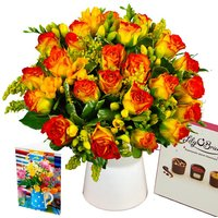 Rose & Freesia Gift Set