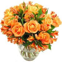 Orange Rosmeria Bouquet