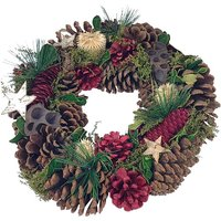 Starry Night Christmas Wreath