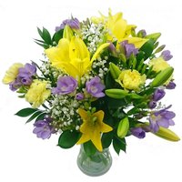 Freesia and Lily Bouquet