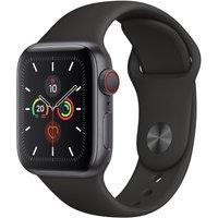 Apple WATCH Series 5 40mm Cellular Aluminiumgehäuse spacegrau Sportarmband schwarz