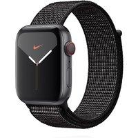 Apple WATCH Nike Series 5 44mm Cellular Aluminiumgehäuse spacegrau Nike Sport Loop schwarz