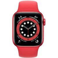 Apple WATCH Series 6 44mm Cellular Aluminiumgehäuse Rot Sportarmband Rot