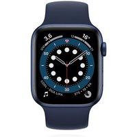 Apple WATCH Series 6 40mm GPS Aluminiumgehäuse Blau Sportarmband Dunkelmarine