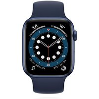 Apple WATCH Series 6 44mm GPS Aluminiumgehäuse Blau Sportarmband Dunkelmarine