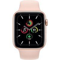 Apple WATCH SE 40mm GPS Aluminiumgehäuse Gold Sportarmband Sandrosa